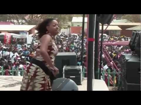 ANGELA NYIRENDA LIVE AT THE LUSAKA SHOWGROUNDS  CHALO CHUWAMA NA WAKO 1