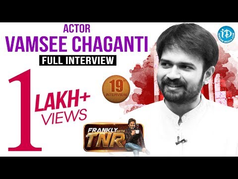 RGV Vangaveeti's Murali (Vamsee Chaganti) Interview   Frankly With TNR #19    Talking Movies#146