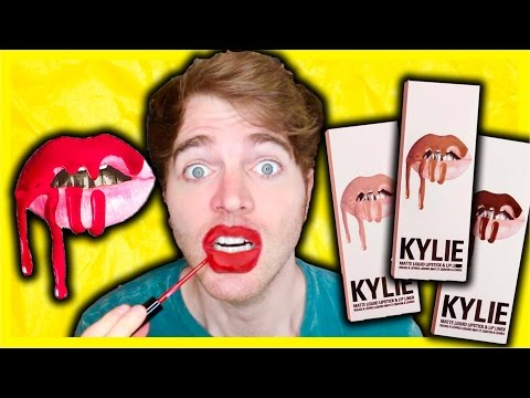 TRYING THE KYLIE JENNER LIP KIT