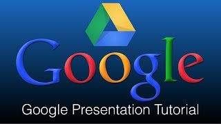 Google Presentation Tutorial How To Use Google Presentation On A Computer
