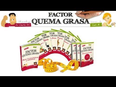 Factor Quema Grasa del Dr. Charles D.C Funciona   Factor Quema Grasa