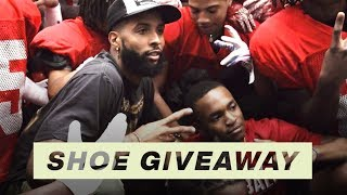 Odell Beckham Jr. Surprises Team with New Nike Air Max