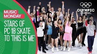 Figure Figure Skating Stars perform to