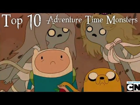 Top 10 Adventure Time Monsters video