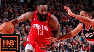 Houston Rockets vs Portland Trail Blazers Full Game Highlights | 01/05/2019 NBA Season