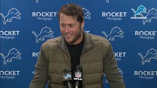 Matthew Stafford on learning from loss to Chiefs