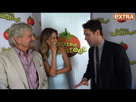 Comic-Con 2014: Michael Douglas & Paul Rudd Talk 'Ant-Man'