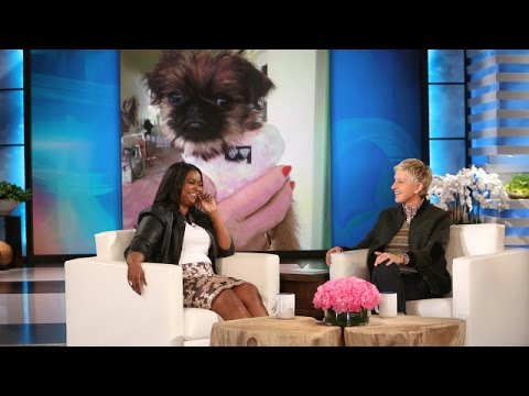 Octavia Spencer on Her New Puppy