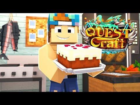 MY OWN BAKERY! | QuestCraft #23 thumbnail