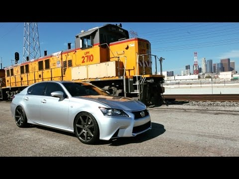 Lexus GS 350 F Sport on 20