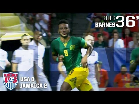 MNT vs. Jamaica: Giles Barnes Goal - July 22, 2015