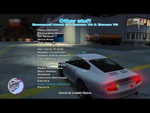 GTA TBOGT - XMC Public 5.5 Mod Menu- Xbox 360