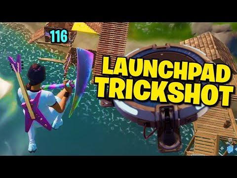 LAUNCHPADS ARE BACK - Road to a Trickshot (Fortnite)