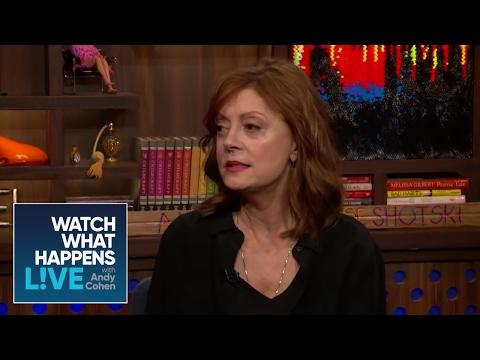 Susan Sarandon Explains The Debra Messing Twitter Feud - WWHL