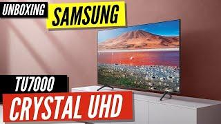 01. Samsung TU7000 Series Unboxing & Setup