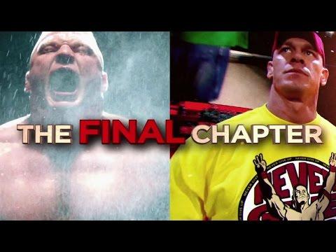 Brock Lesnar and John Cena prepare for their final battle at Royal Rumble