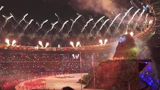 Opening ceremony of the 18th Asian Games Jakarta Palembang 2018