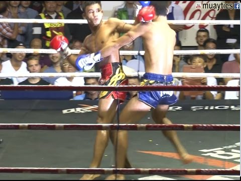 Muay Thai Fight - Seksan Vs Genji, Rajadamnern Stadium Bangkok - 10th September 2015