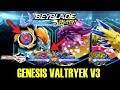 GENESIS VALTRYEK V3 VS WYVRON W3 VS FAFNIR F3 SWITCHSTRIKE BURST APP GAMEPLAY! EXCLUSIVE