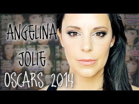 Sexy Eyes Angelina Jolie Oscars 2014 Makeup | Silvia Quiros video