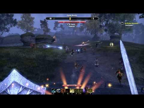 The Elder Scrolls Online #6 - ПВП в Сиродиле