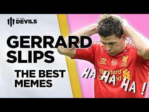 Gerrard Slips! Best Memes | Gerrard's Retirement | Goodbye Stevie G!