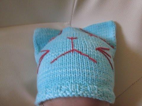 tuto tricot apprendre a tricoter un bonnet de bebe super facile et rapide bonnet au tricot. Black Bedroom Furniture Sets. Home Design Ideas