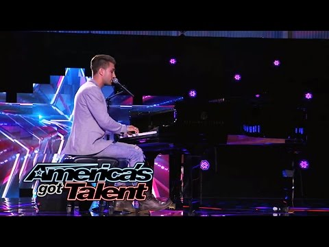 "Justin Rhodes: Singer Gets Emotional With ""I'm Only Human"" Cover - America's Got Talent 2014"