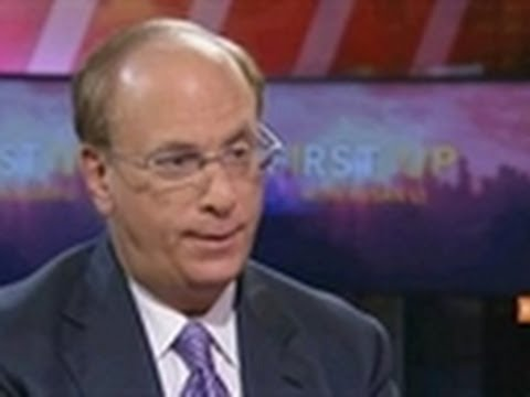 BlackRock's Fink Recommends Investors Be 100% in Stocks