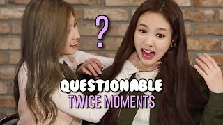 TWICE moments that are very questionable part 2