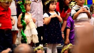 Mia Christmas celebration program Makakilo Baptist preschool