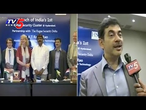 India's First Cyber Security Cluster Launch | IT Secretary Jayesh Ranjan Face to Face | TV5 News