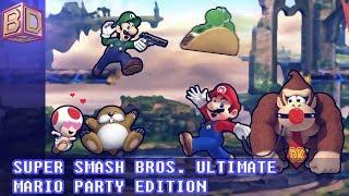 Super Smash Bros Ultimate - Mario Party Edition [Parody]