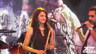 Shankar Mahadevan & Rasika Shekar   at AURA 2015 GIT