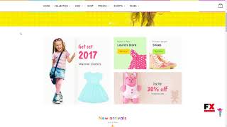 Kids Store Kids Clothing, Fashion Shopify Theme        Jemmy Sullivan