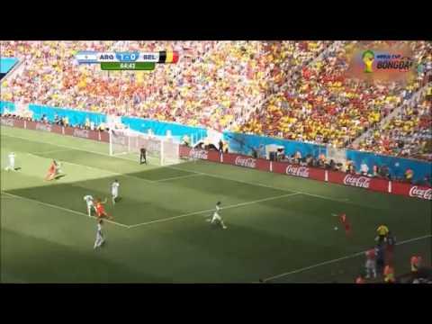 Tiki - taka argentina vs Belgium