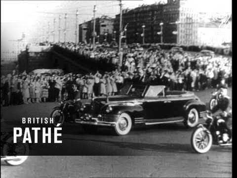 Emperor Of Ethiopia Haile Selassie In Hungary (1964)