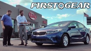 First Gear - 2017 Kia Forte S - Review and Test Drive