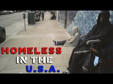 Homelessness in the USA: San Francisco, Tenderloin