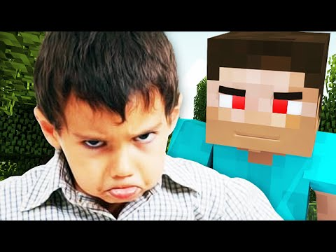 LITTLE KID Gets TROLLED by a NOOB on MINECRAFT Minecraft Trolling
