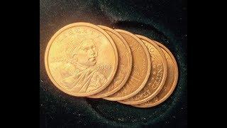 Sacagawea Dollar With Edge Lettering