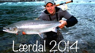 Laksefiske / Salmonfishing Lærdal 2014 Neteland Production HD