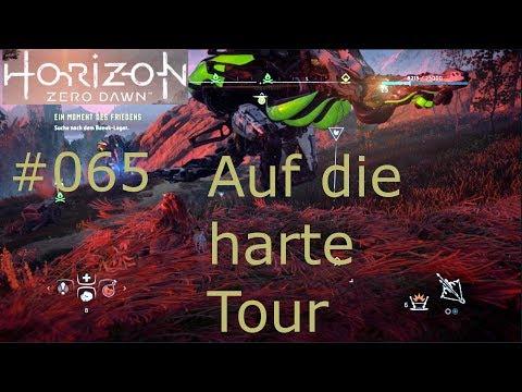Let's Play HORIZON ZERO DAWN [#065] Auf die harte Tour [ PS4/ Deutsch/ German/ HD]