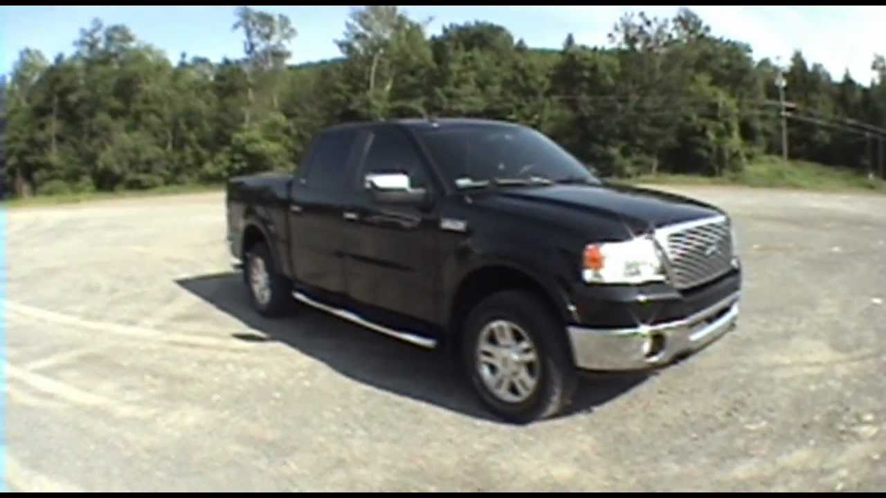 my new truck 2007 ford f 150 supercrew lariat 4wd youtube. Black Bedroom Furniture Sets. Home Design Ideas