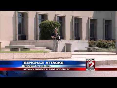 Benghazi suspect pleads not guilty before judge