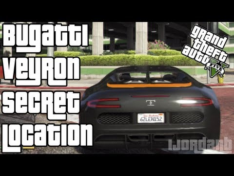 gta 5 bugatti veyron secret location how to get a bugatti. Black Bedroom Furniture Sets. Home Design Ideas