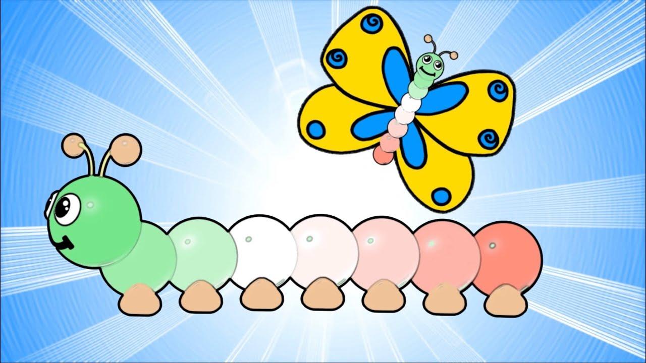 Il bruco tricolore canzoni per bambini e bimbi piccoli