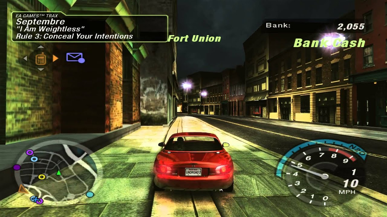 Need For Speed Underground 2 Enbseries Shaders Hd Textures Widescreen 1080p Youtube
