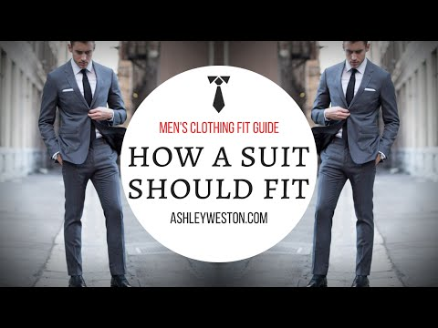 How A Suit Should Fit - Men's Clothing Fit Guide thumbnail