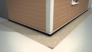 Video sulle fasi applicative del sistema per l'isolamento termico a cappotto